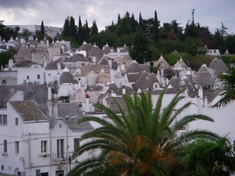 Village of trulli houses. Alberobello, Italy, 2008