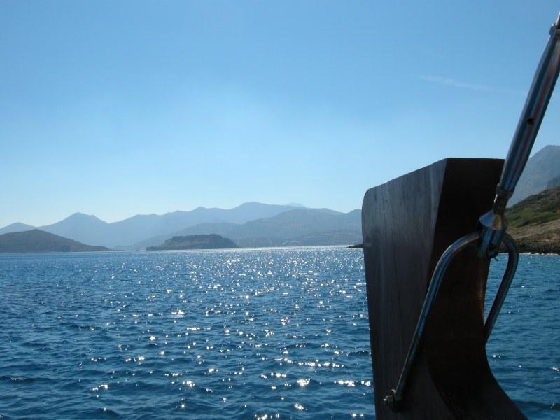 Love this view. Crete, Greece, 2010