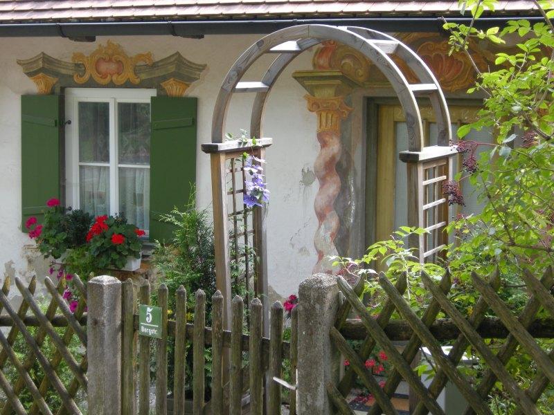 Bavarian garden gate