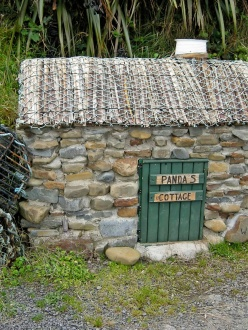 a small stone cottage