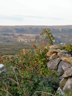 sweeping view of The Burren in Ireland