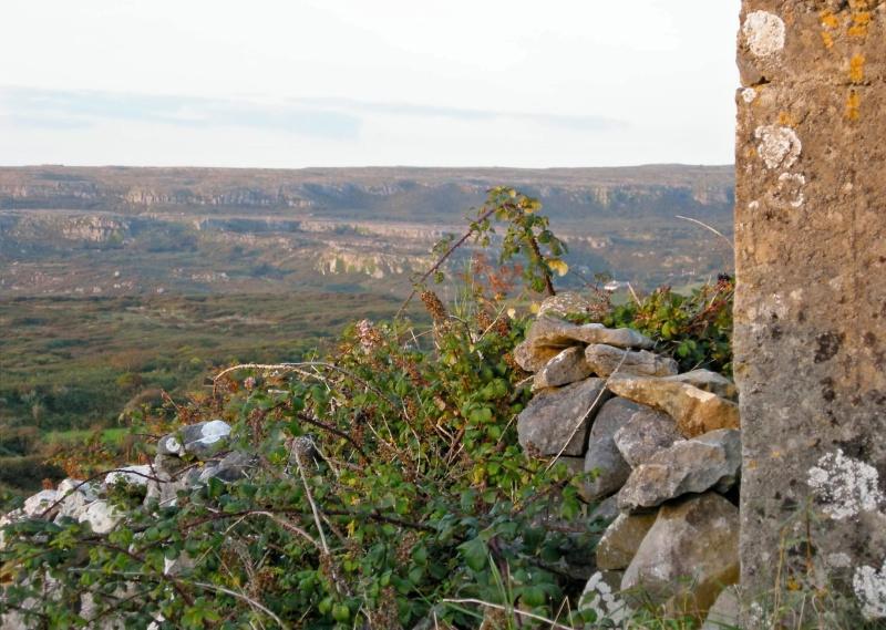 sweeping view of The Burren in Ireland