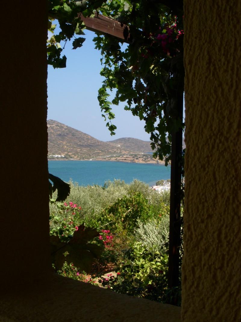 view through a wall