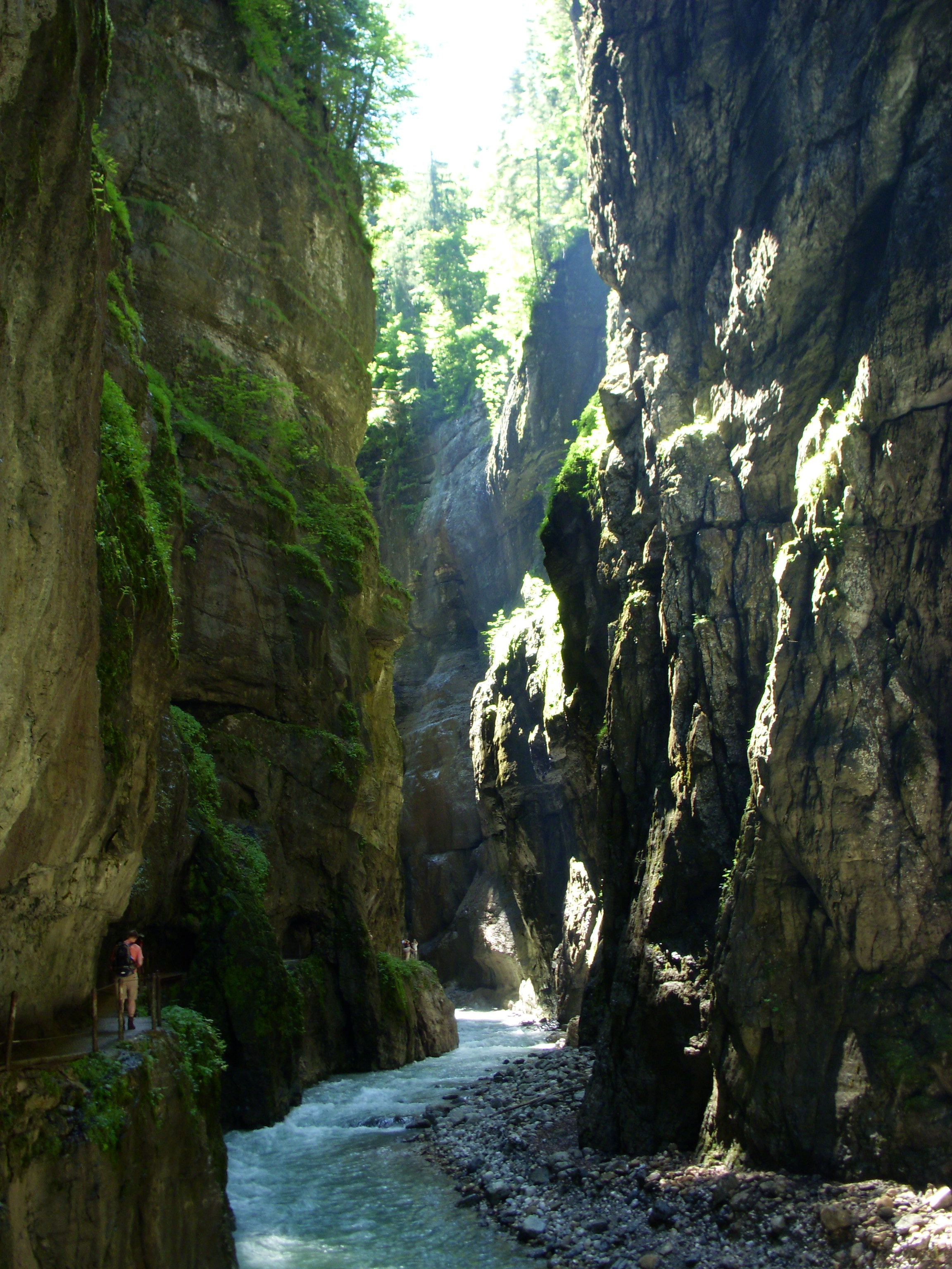 partnach gorge partnachklamm weird cool stuff seen. Black Bedroom Furniture Sets. Home Design Ideas
