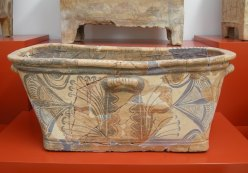 an ancient Greek casket