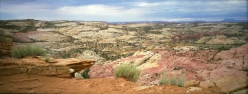 panoramic view in Utah