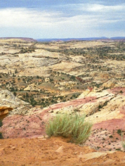 panoramic view in Utah