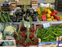 Produce at an Italian Market