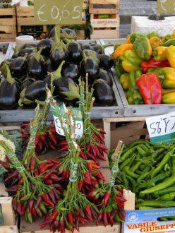 Produce at an Italian Market