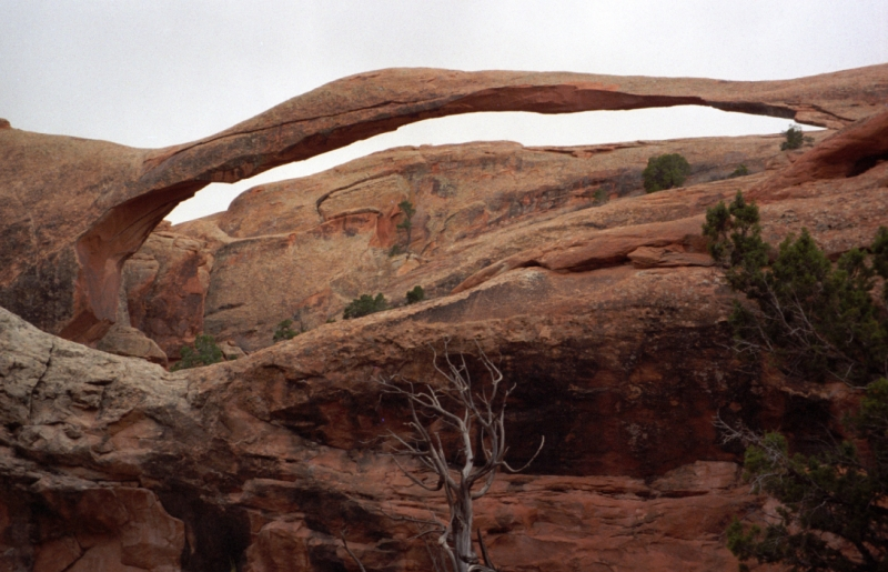 an arch formation in southern Utah