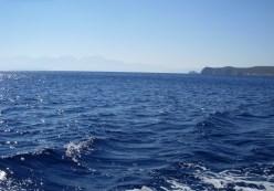 waves off the coast of Crete