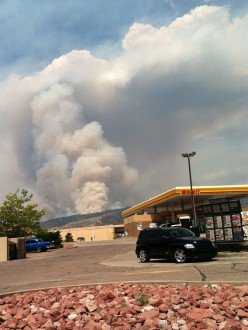 Waldo Canyon Fire, Colorado Springs