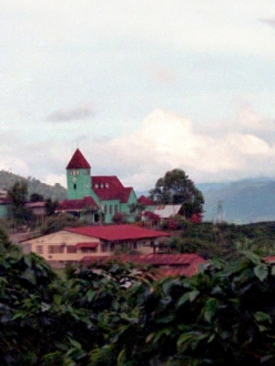 a village in central Costa Rica