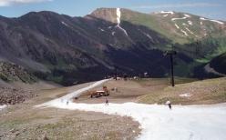 summer skiing in Colorado
