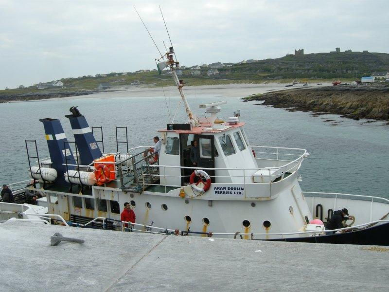 Doolin ferry to the Aran Islands