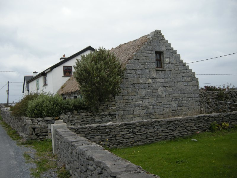 a house on the island of Inisheer