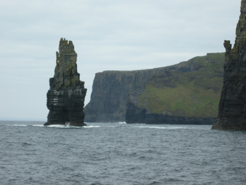 Cliffs of Moher and seastack