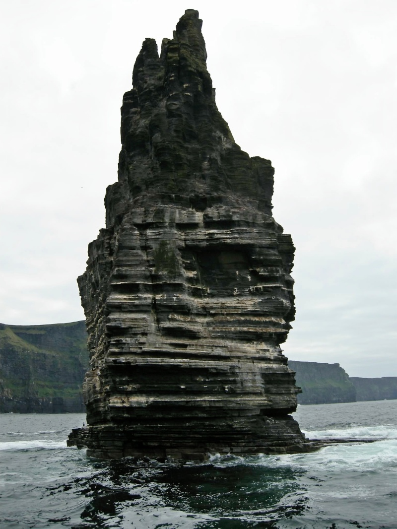 Seastack at the Cliffs of Moher