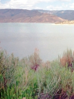 a Colorado reservoir
