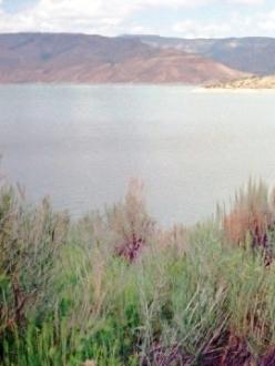 a Colorado reservoir
