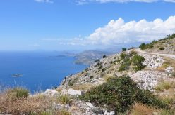 overlooking the Adriatic from the Dalmatian Coast, Croatia