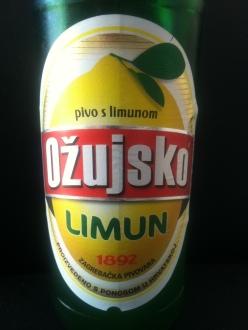 a brand of Croatian beer that is lemon flavored