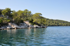 view approaching Mljet