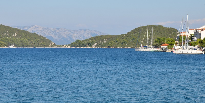 leaving Mljet