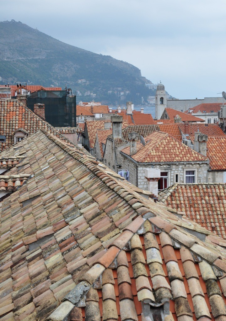 roofs of Dubrovnik, Croatia