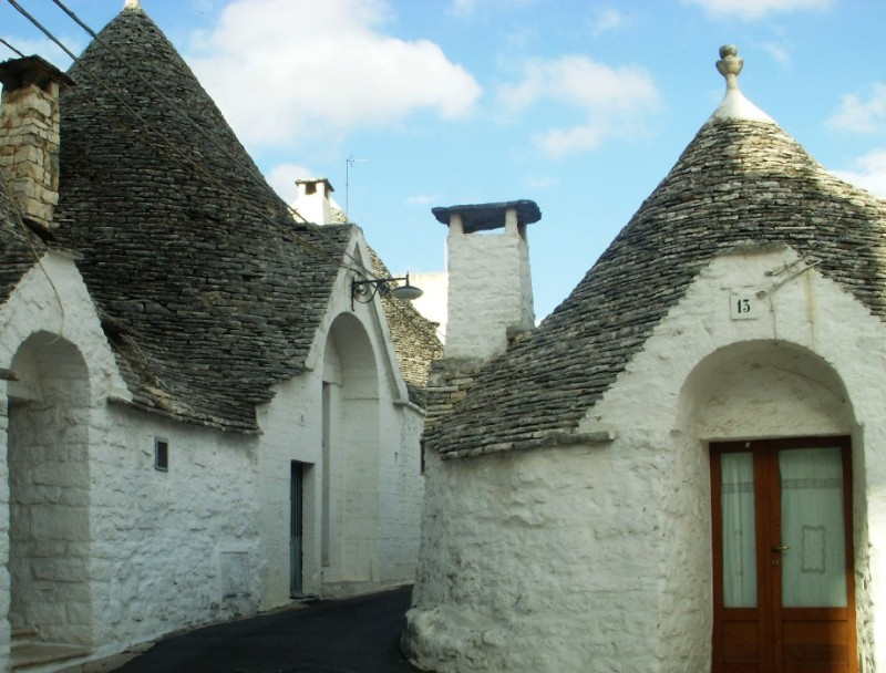 trulli houses in Alberobello, Italy