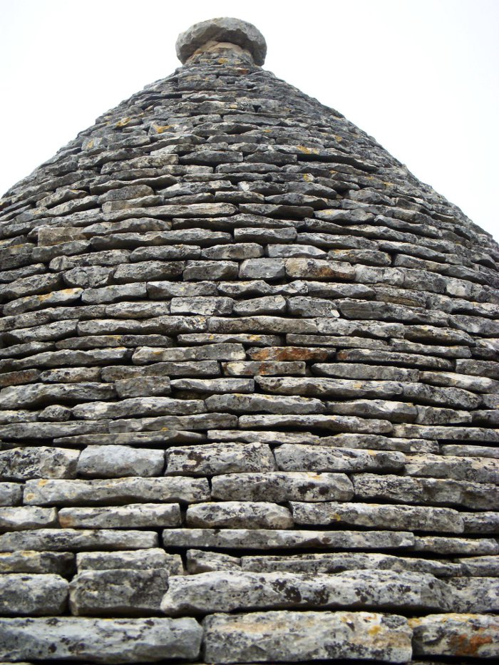 trulli house roof
