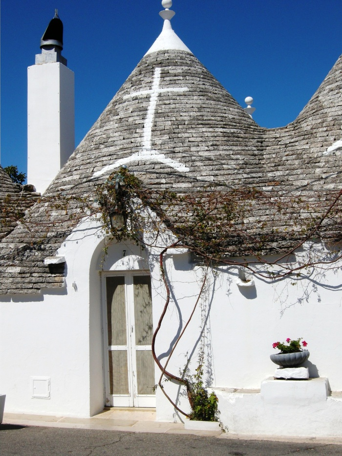 trulli house in Alberobello, Italy