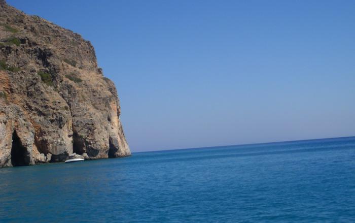 Cretan coast