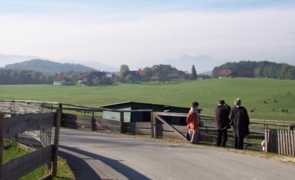 Austrian countryside near Salzburg, Austria