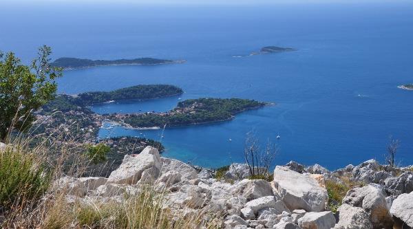 islands off Croatia's Dalmatian Coast