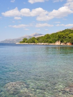Croatian coastline