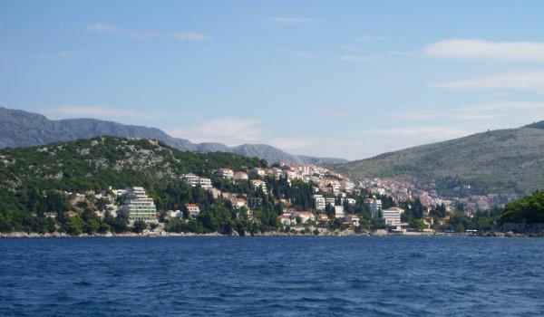 a town on Croatia's coast