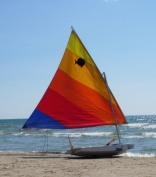 sailboat, Lake Ontario, New York