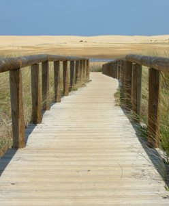 boardwalk to the beach, Alantejo Coast, Portugal