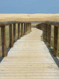boardwalk to the beach, Alantejo Coast, Portugal