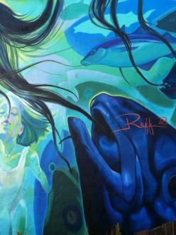 street art in Reykjavic, Iceland