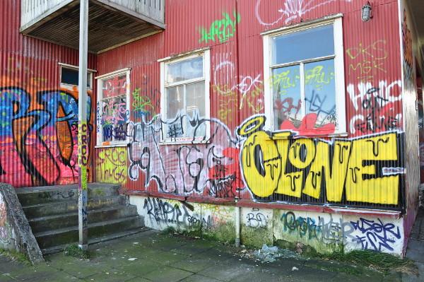 Grafitti in Reykjavic, Iceland