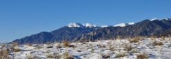 Sangre de Cristo Mountains, San Luis Valley, Colorado
