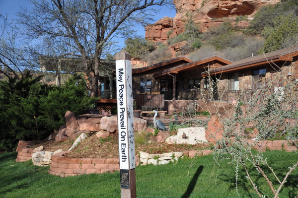 welcome at Best Friends Animal Sanctuary in Kanab, Utah