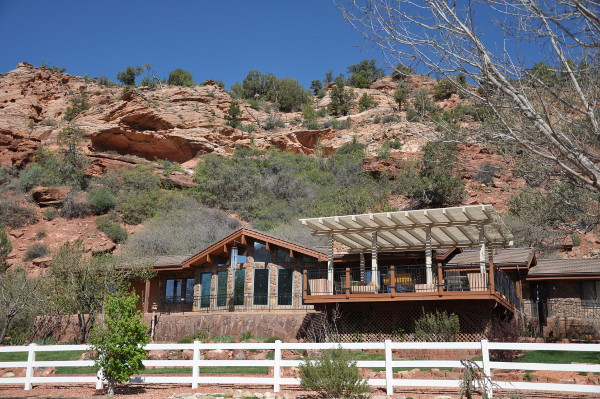 visitor center at Best Friends Animal Sanctuary in Kanab, Utah
