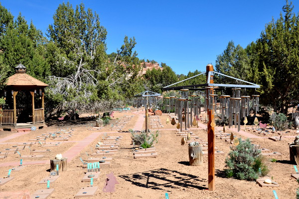 Angels Rest at Best Friends Animal Sanctuary in Kanab, Utah