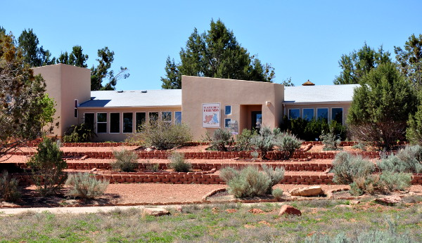 Feathered Friends building at Best Friends Animal Sanctuary in Kanab, Utah