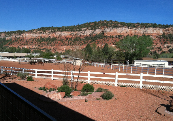 Horse Haven at Best Friends Animal Sanctuary in Kanab, Utah