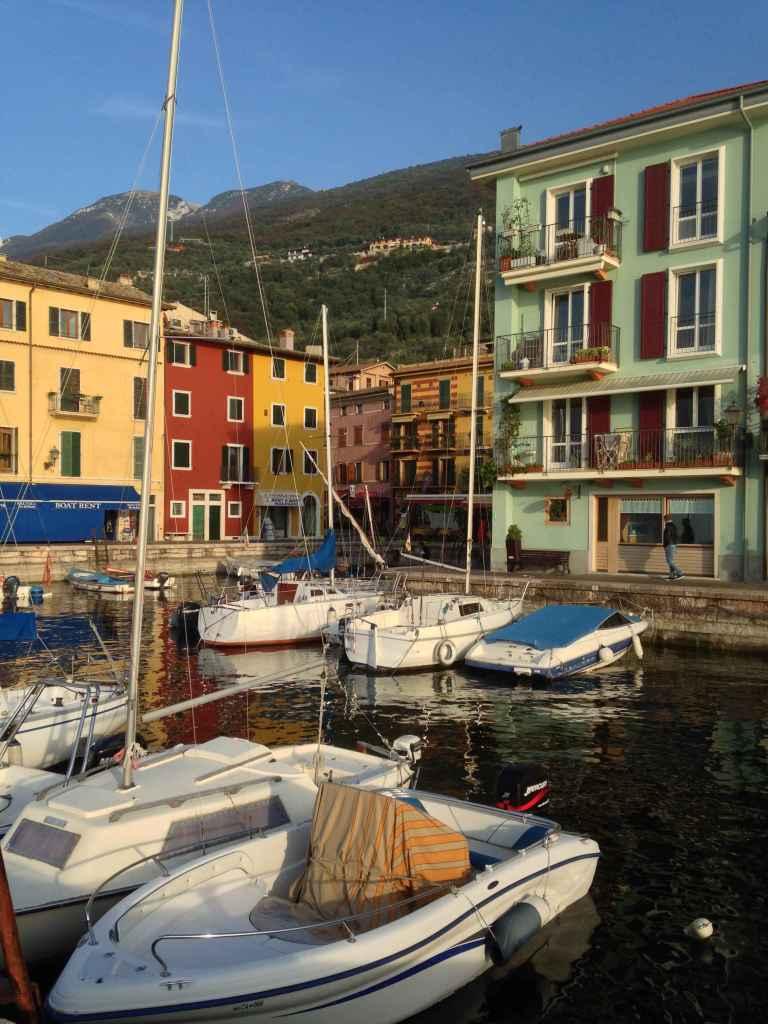 harbor in Castelletto, Italy